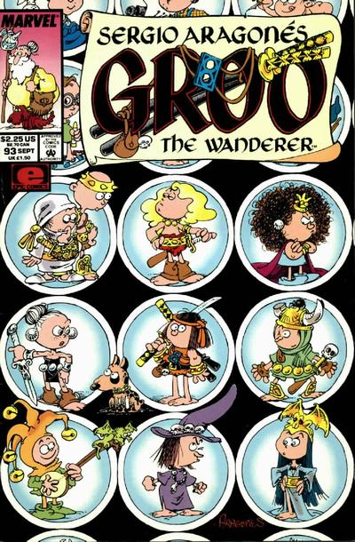 Cover for Sergio Aragonés Groo the Wanderer (Marvel, 1985 series) #93 [Direct Edition]