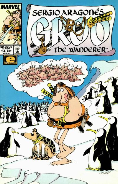 Cover for Sergio Aragonés Groo the Wanderer (Marvel, 1985 series) #94 [Direct Edition]