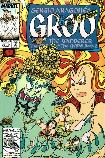 Cover for Sergio Aragonés Groo the Wanderer (Marvel, 1985 series) #97