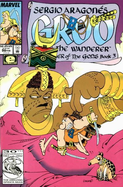 Cover for Sergio Aragonés Groo the Wanderer (Marvel, 1985 series) #98