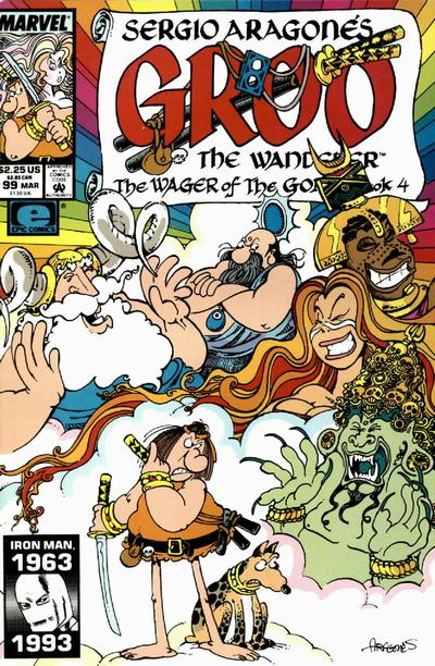 Cover for Sergio Aragonés Groo the Wanderer (Marvel, 1985 series) #99