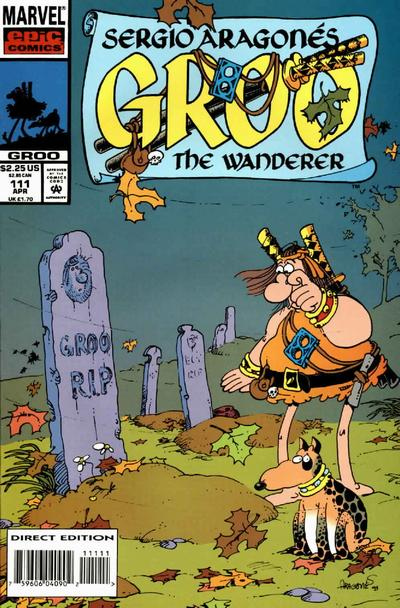 Cover for Sergio Aragonés Groo the Wanderer (Marvel, 1985 series) #111