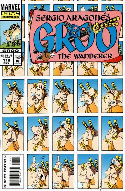 Cover for Sergio Aragonés Groo the Wanderer (Marvel, 1985 series) #118