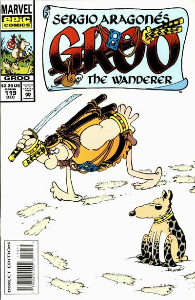 Cover for Sergio Aragonés Groo the Wanderer (Marvel, 1985 series) #119