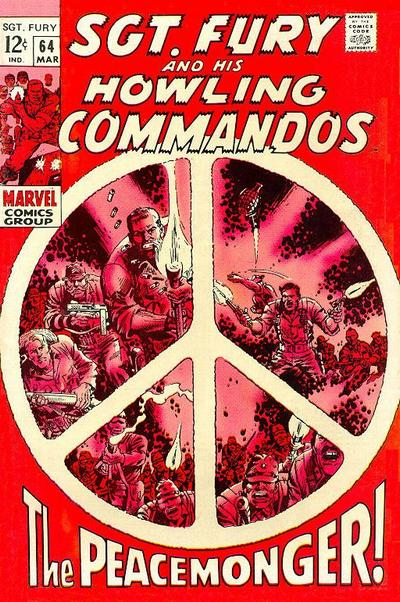 Cover for Sgt. Fury (Marvel, 1963 series) #64