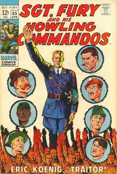Cover for Sgt. Fury (Marvel, 1963 series) #65