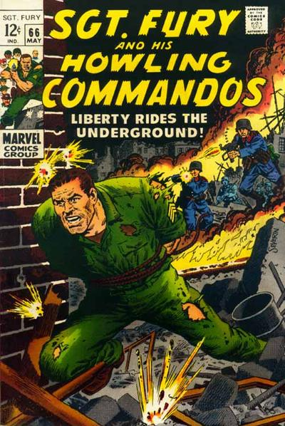 Cover for Sgt. Fury (Marvel, 1963 series) #66