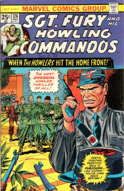 Cover for Sgt. Fury and His Howling Commandos (Marvel, 1974 series) #126