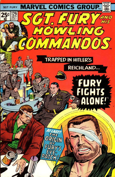 Cover for Sgt. Fury and His Howling Commandos (Marvel, 1974 series) #129