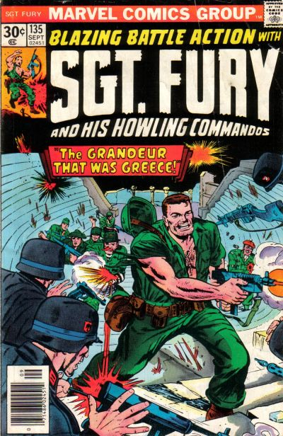 Cover for Sgt. Fury and His Howling Commandos (Marvel, 1974 series) #135
