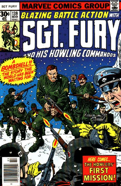 Cover for Sgt. Fury and His Howling Commandos (Marvel, 1974 series) #139