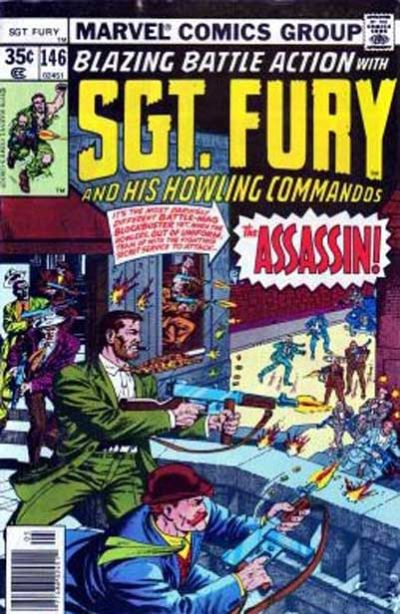 Cover for Sgt. Fury and His Howling Commandos (Marvel, 1974 series) #146
