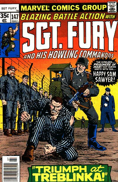 Cover for Sgt. Fury and His Howling Commandos (Marvel, 1974 series) #147