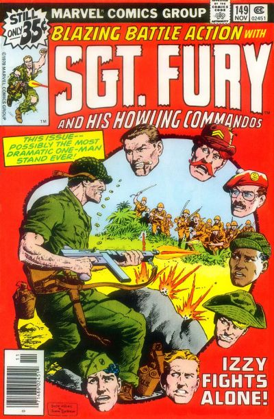 Cover for Sgt. Fury and His Howling Commandos (Marvel, 1974 series) #149