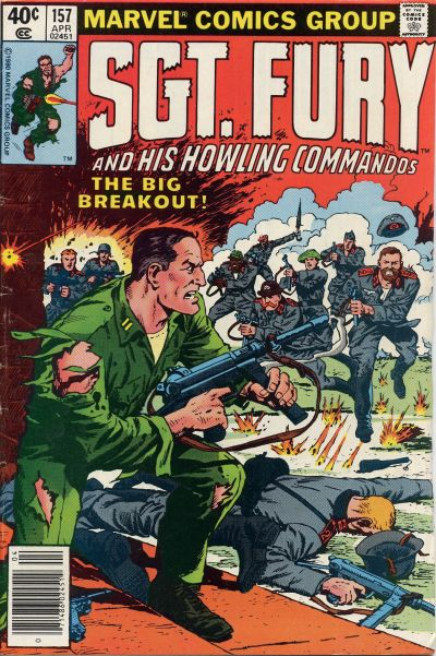 Cover for Sgt. Fury and His Howling Commandos (Marvel, 1974 series) #157
