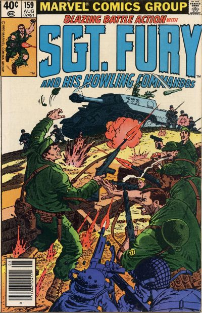 Cover for Sgt. Fury and His Howling Commandos (Marvel, 1974 series) #159