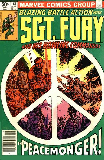 Cover for Sgt. Fury and His Howling Commandos (Marvel, 1974 series) #161