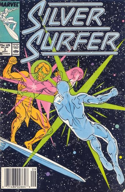 Cover for Silver Surfer (Marvel, 1987 series) #3 [Newsstand]