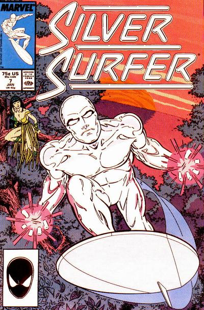 Cover for Silver Surfer (Marvel, 1987 series) #7