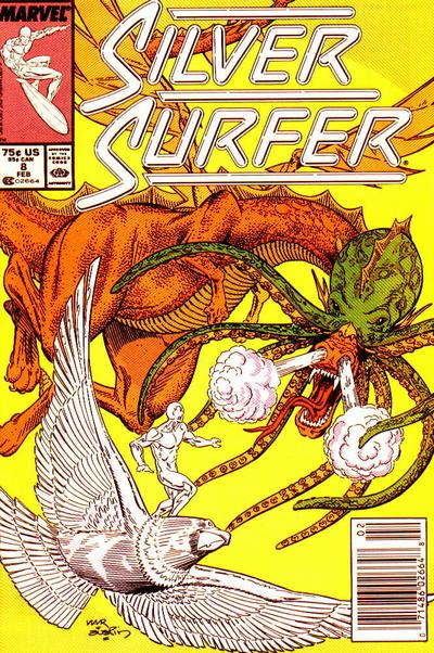 Cover for Silver Surfer (Marvel, 1987 series) #8
