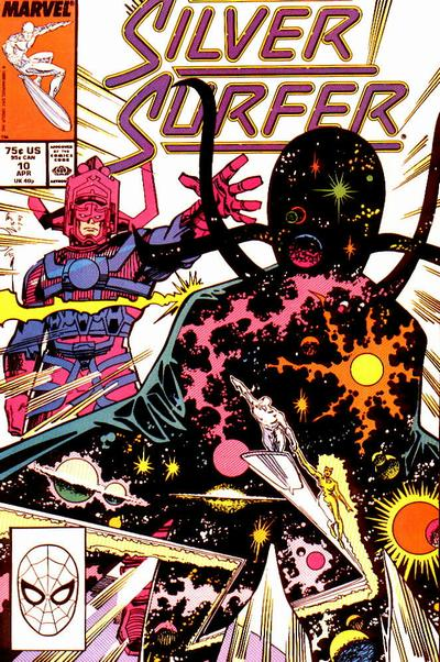Cover for Silver Surfer (Marvel, 1987 series) #10