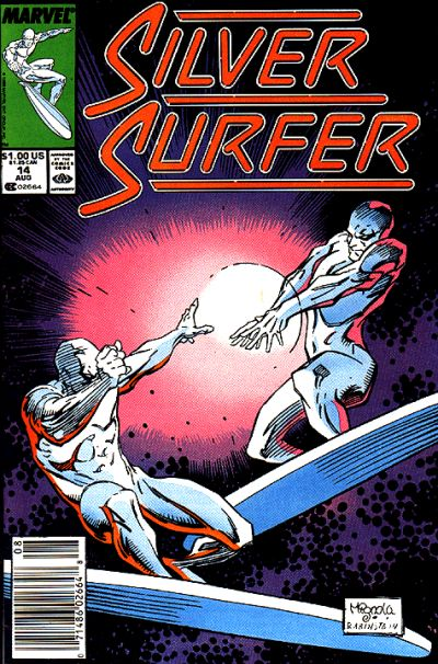 Cover for Silver Surfer (Marvel, 1987 series) #14