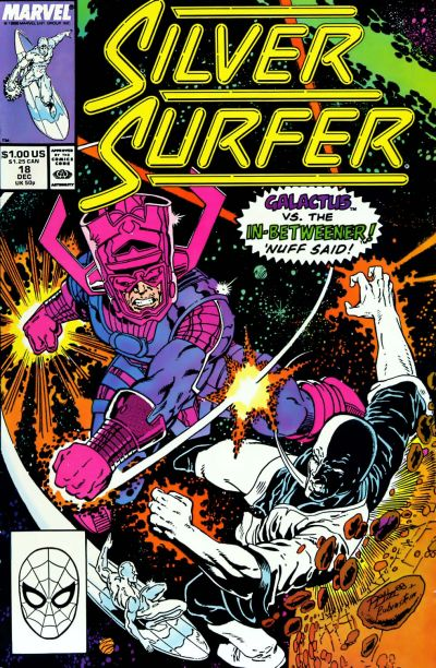 Cover for Silver Surfer (Marvel, 1987 series) #18