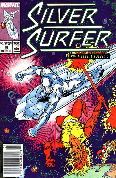 Cover for Silver Surfer (Marvel, 1987 series) #19