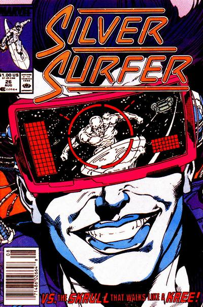 Cover for Silver Surfer (Marvel, 1987 series) #26 [Direct]