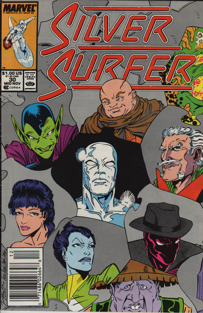 Cover for Silver Surfer (Marvel, 1987 series) #30