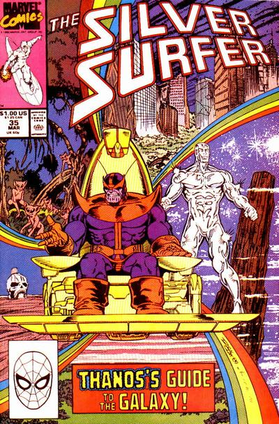 Cover for Silver Surfer (Marvel, 1987 series) #35 [Newsstand]