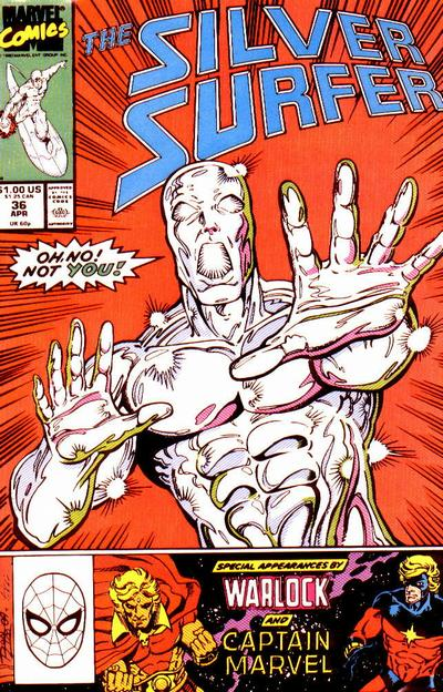Cover for Silver Surfer (Marvel, 1987 series) #36
