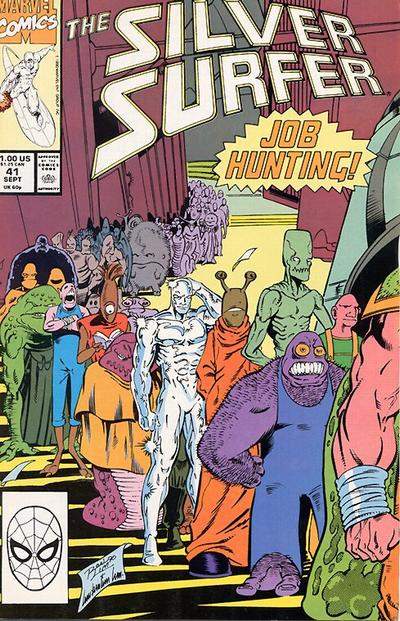 Cover for Silver Surfer (Marvel, 1987 series) #41