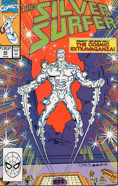 Cover for Silver Surfer (Marvel, 1987 series) #42