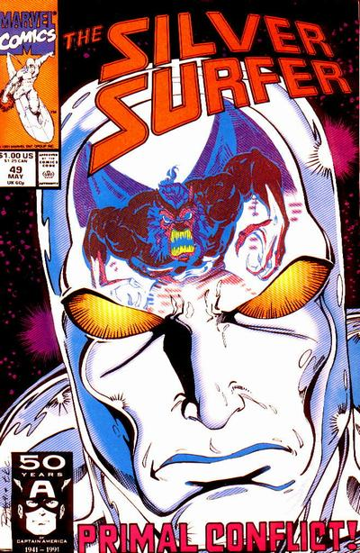 Cover for Silver Surfer (Marvel, 1987 series) #49
