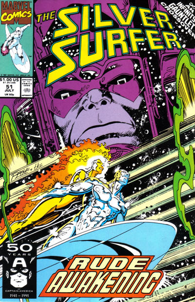 Cover for Silver Surfer (Marvel, 1987 series) #51
