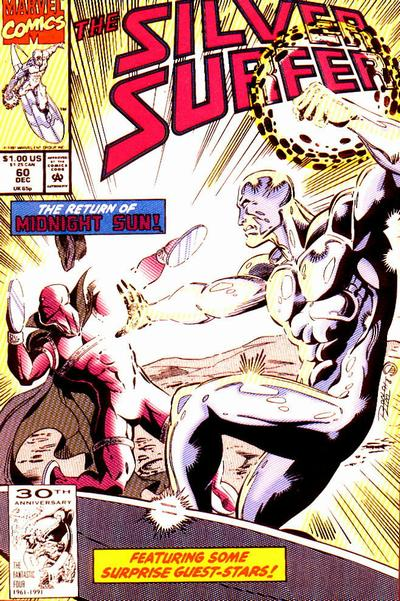 Cover for Silver Surfer (Marvel, 1987 series) #60