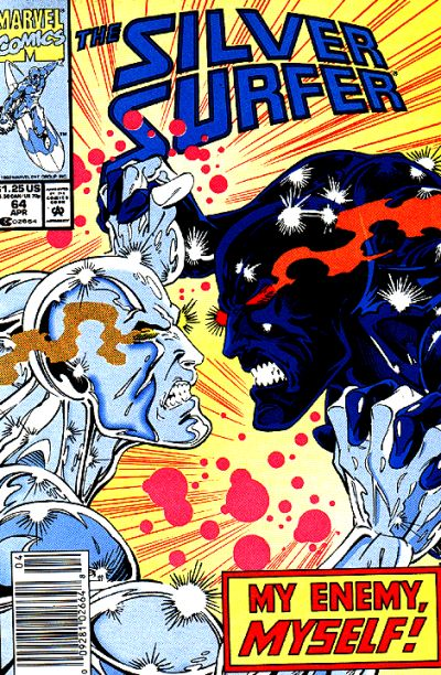 Cover for Silver Surfer (Marvel, 1987 series) #64 [Direct Edition]