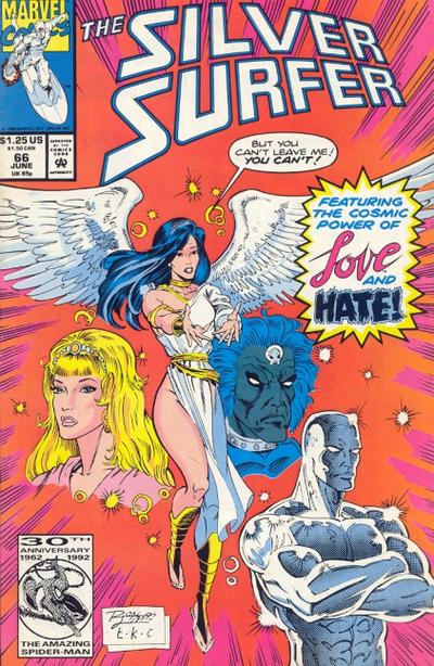 Cover for Silver Surfer (Marvel, 1987 series) #66