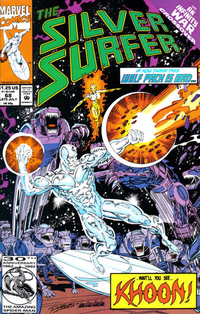 Cover for Silver Surfer (Marvel, 1987 series) #68