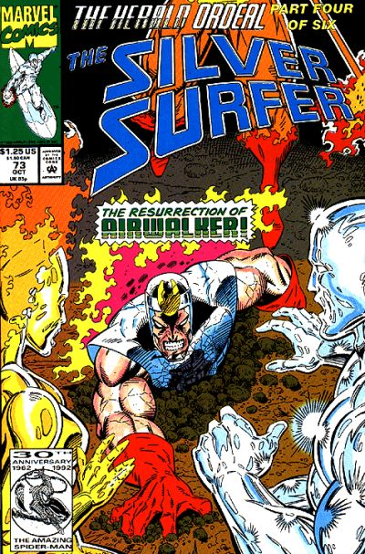 Cover for Silver Surfer (Marvel, 1987 series) #73 [Direct]