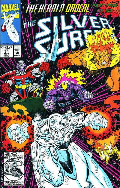 Cover for Silver Surfer (Marvel, 1987 series) #74