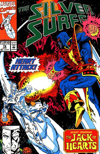 Cover for Silver Surfer (Marvel, 1987 series) #76 [Newsstand]