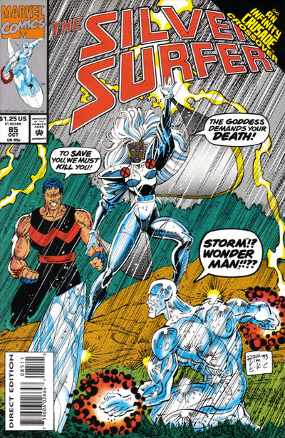 Cover for Silver Surfer (Marvel, 1987 series) #85