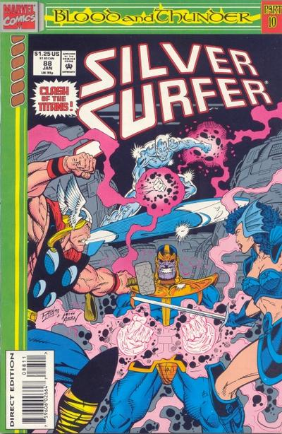 Cover for Silver Surfer (Marvel, 1987 series) #88