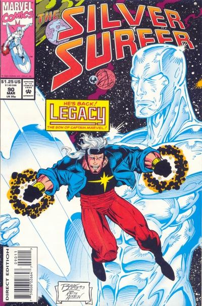 Cover for Silver Surfer (Marvel, 1987 series) #90