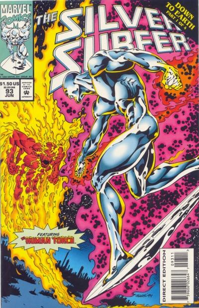 Cover for Silver Surfer (Marvel, 1987 series) #93