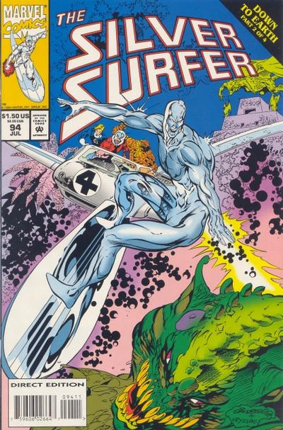 Cover for Silver Surfer (Marvel, 1987 series) #94