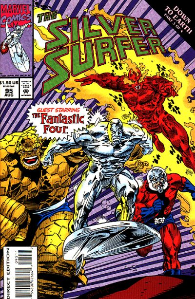 Cover for Silver Surfer (Marvel, 1987 series) #95