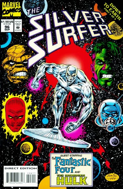 Cover for Silver Surfer (Marvel, 1987 series) #96